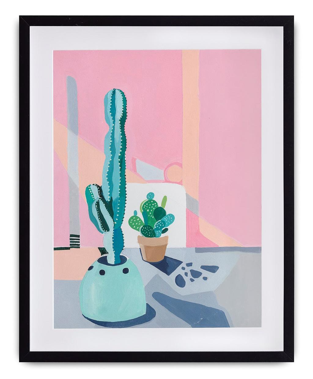Correto Verde 1 (2018)<br>AcrÍLICA e óleo Sobre tela<br>40x29 cm
